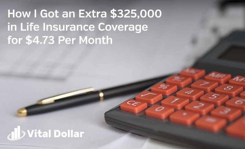 How I Got an Extra $325,000 in Life Insurance Coverage for $4.73 Per Month (Quotacy Review)