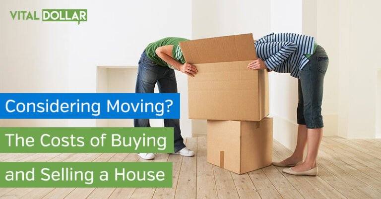 Considering Moving? Here are the Costs of Buying and Selling a House