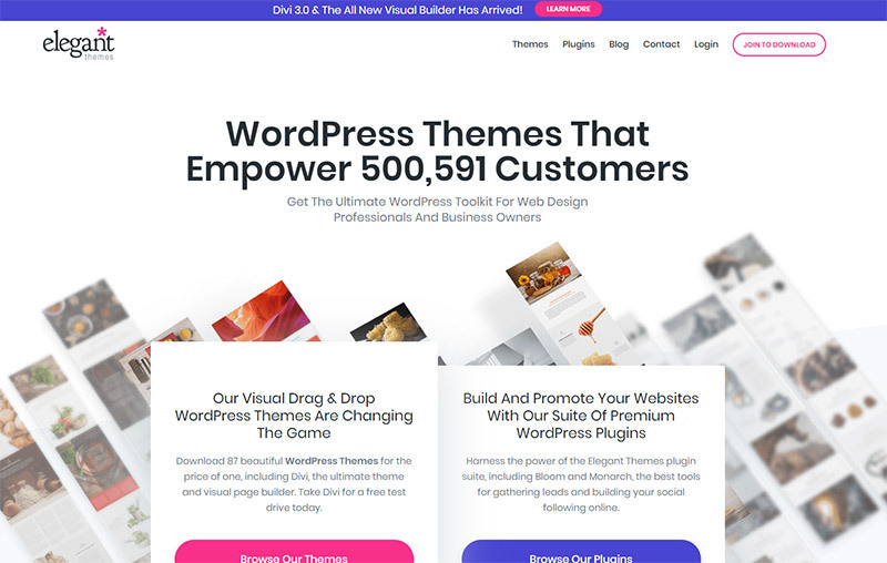 Elegant Themes WordPress Themes Price To Buy