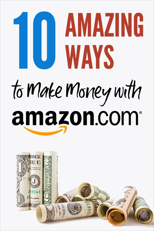 10 Amazing Ways to Make Money with Amazon.com. Learn how you can make extra cash in your spare time selling on Amazon, as an affiliate / associate, with Mechanical Turk, as a Flex delivery driver, and more. Ways to sell include private label, wholesale, retail arbitrage, used items, and dropshipping. Ecommerce side hustles to make money online from home. Tips to sell products, run an online business. Passive income possible! #vitaldollar #makemoney #amazon #ecommerce #fba
