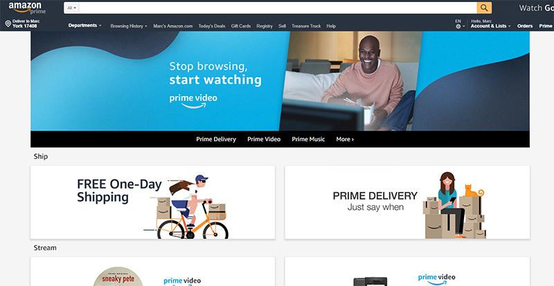 Save Money with Amazon Prime