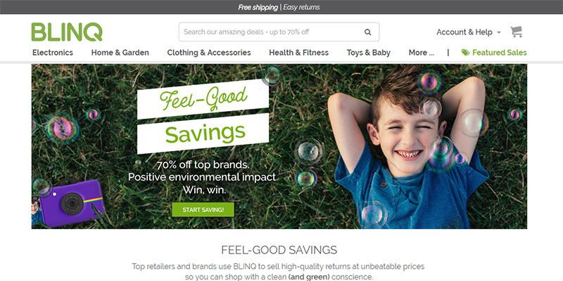 Blinq.com - Save Big on Returned Items