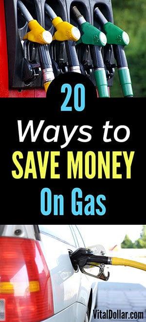 Ways to Save Money on Gas