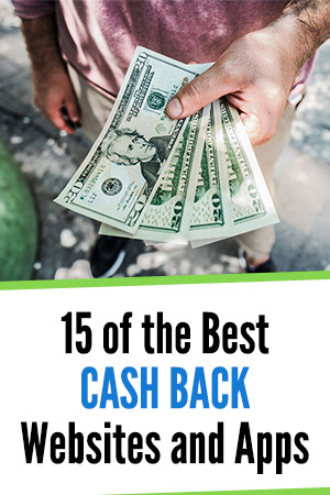 Cash back websites apps