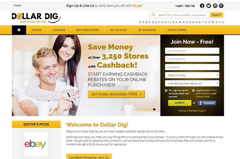 Dollar Dig