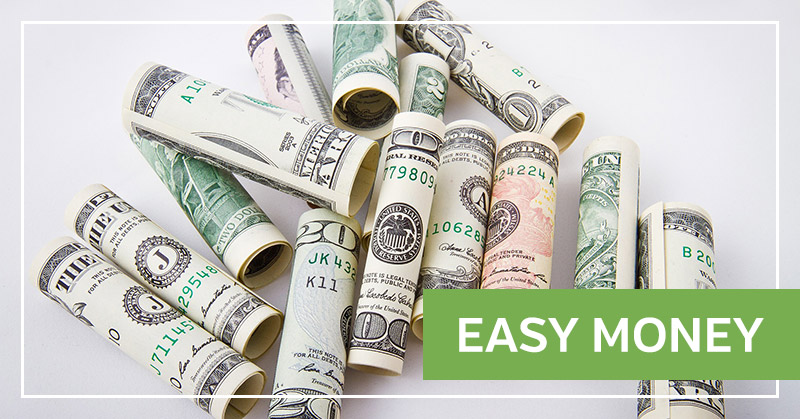 Easy Money - Sign Up Bonuses and Other Free Money
