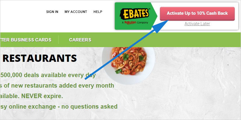 Ebates Browser Extension