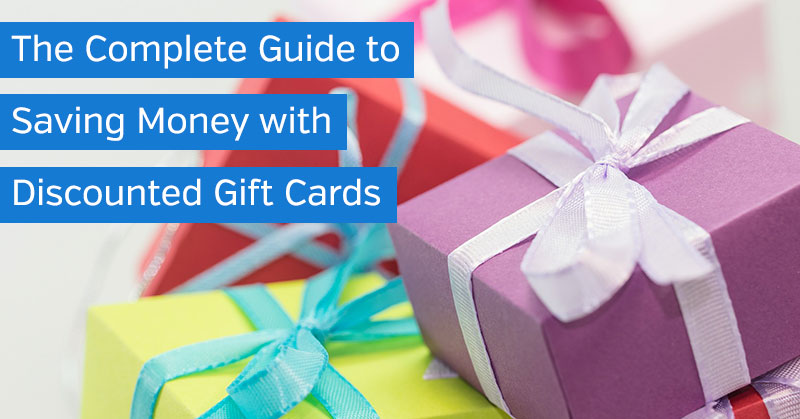 How to Save Money with Discounted Gift Cards