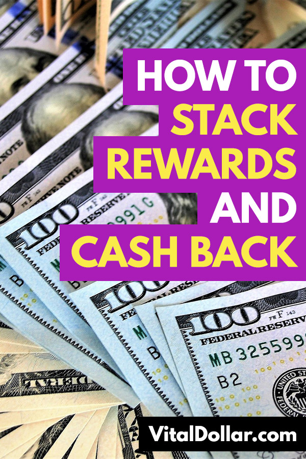 How to Stack Rewards and Cash Back. Get the most cash back from credit cards and websites and apps like Ebates, BeFrugal, TopCashback, Drop, Dosh, and others. Get two or three times the rewards easily, on almost any purchase. Buy gift cards at Raise or Cardpool to save extra money. This article shows how you can easily make money with several real world examples like restaurants, gas, groceries, and more. Plus loyalty programs! #savemoney #money #personalfinance #frugal