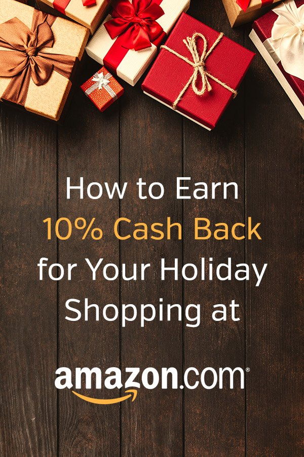 How to Earn 10% Cash Back for Your Holiday Shopping at Amazon.com. Sign up for the Discover It card and you'll earn 5% cash back on purchases at Amazon.com (4th quarter of 2018). Discover also matches all of the cash back that you earn in your first 12 months with the card, making it 10% in savings! Love to frugal! #vitaldollar #frugal #cashback #amazon #savemoney #personalfinance #money #savingmoney