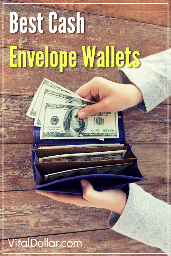 Best Cash Envelope System Wallets. Do you use the cash envelope method of budgeting recommended by Dave Ramsey? If so, here is a review of the best wallets that make it easy to manage your money. Take control of your personal finances, get out of debt, and save and invest more with the help of these affordable products. #vitaldollar #daveramsey #budgeting #budget #personalfinance