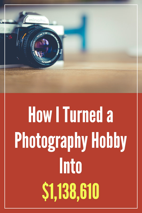 How I Turned a Photography Hobby Into $1,138,610. Learn how you can make money with your own hobby following this approach. Use it as a side hustle for making extra money, or build a business and a full-time income. There are plenty of ideas and tips that you can use to monetize something that you love and enjoy doing. Start a blog, sell a digital product, offer a service... #vitaldollar #sidehustle #makemoney #makingmoney #makemoneyonline #personalfinance
