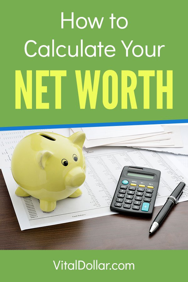 How to Calculate Your Net Worth. Do you know your net worth? It\'s not hard to do, and this article shows you exactly how to do it. Just add up your assets and subtract your liabilities and debts. Personal Capital is a free finance app that makes it easy to calculate and track your net worth. If you want to reach FI or FIRE and retire early, tracking and growing your net worth is essential. #vitaldollar #personalfinance #money #networth