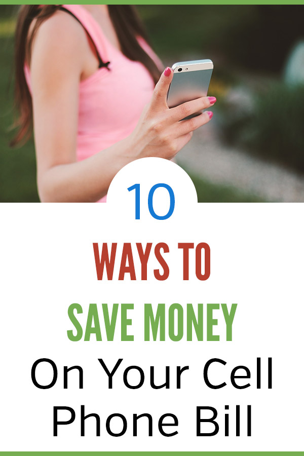 10 Ways to Save Money on Your Cell Phone Bill. Great tips and ideas that you can use to save hundreds of dollars per year. My wife and I cut our bill in half and saved $800 per year with one simple tip! Consider switching to a discount pre-paid wireless carrier like Cricket Wireless or Boost Mobile for easy savings. Free up more money in your budget by saving big on your cell service. #vitaldollar #savingmoney #savemoney #money #personalfinance #frugal
