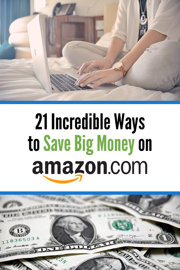21 Incredible Ways to Save Big Money on Amazon. Tips and ideas you can use to get discounts, freebies, and save money when you are shopping on Amazon.com. Whether you are a Prime member or not, there are plenty of great ways to spend less and get amazing deals. Find exclusive sales and special offers, get free music downloads, earn extra cash back, take advantage of perks, get free card cards and codes, and more. #vitaldollar #savemoney #savingmoney #amazon #frugal #money