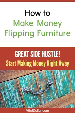 Make Money Flipping Furniture