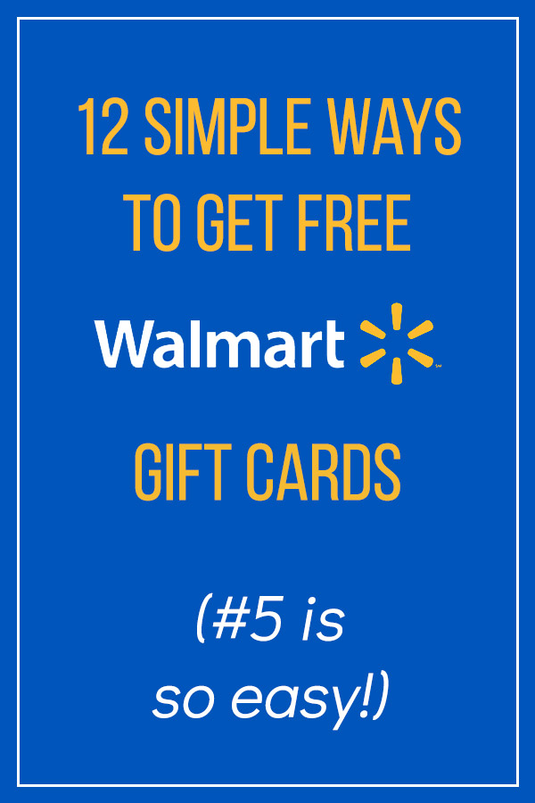 12 Simple Ways to Get Free Walmart Gift Cards. Save money with these tips and ideas. Spend less on your shopping at Walmart and Walmart.com. Use the Savings Catcher to get credit if the price drops, and use Walmart Pay. Swagbucks, Ibotta, Survey Junkie, Inbox Dollars, and MyPoints all allow you to get free gift cards by taking surveys or claiming cash back offers. Your budget will love these tips. #vitaldollar #savemoney #savingmoney #free #walmart #personalfinance