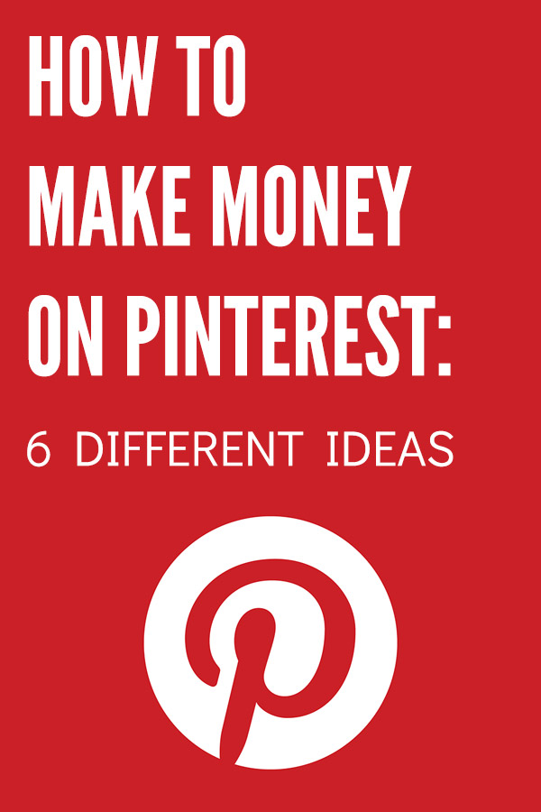 How to Make Money on Pinterest: 6 Different Ideas. Looking to make money online? Here are 6 ways that you can make money using Pinterest, and you don\'t even need your own website or blog for some of them. Affiliate marketing, works as a Virtual Assistant or VA, sell your own products, start a blog, and more. Great side hustle opportunities! Use social media marketing to earn extra cash. #vitaldollar #pinterest #makemoney #makemoneyonline #entrepreneur #blogging