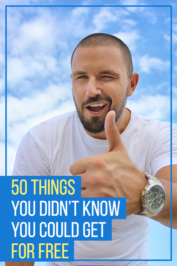 50 Things You Didn't Know You Could Get for Free. Save money and live a frugal lifestyle with these freebies. Some are samples and others are ways to get free products and services. Great money saving tips for your budget and personal finances. Get free education, food at restaurants, gift cards, magazines, books, music, TV and movies, bowling, phone calls, texts, hotel stays, diapers, medication, and more. #vitaldollar #freebies #savemoney #savingmoney #frugal #money