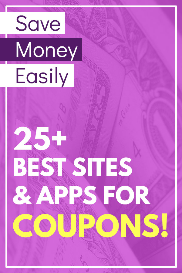 25+ of the Best Coupon Sites and Apps to Save Money. If you\'re looking to live a more frugal life, cut back on spending, or to find some extra room in the budget, using coupons is a great way to save on the things that you need to buy. You can print coupons to use at stores, use mobile apps, or take advantage of deals and offers online. This is a great list of the best websites and apps to help with couponing. #savemoney #savingmoney #frugal #coupons #couponing
