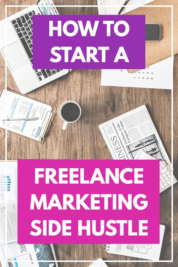 How to Start a Freelance Marketing Side Hustle. This is a really inspiring story of Todd Kunsman and how he\'s made extra money on the side of his full-time job by freelancing as a marketing consultant. Todd even used this side hustle as a full-time income for 9 months while he was unemployed. I love finding ways to make extra cash and after reading this interview, this is something I want to try. Lots of great tips and ideas here! #makemoney #makingmoney #sidehustle