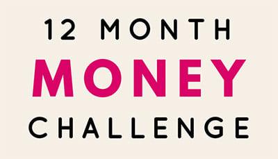 12-Month Money Saving Challenge