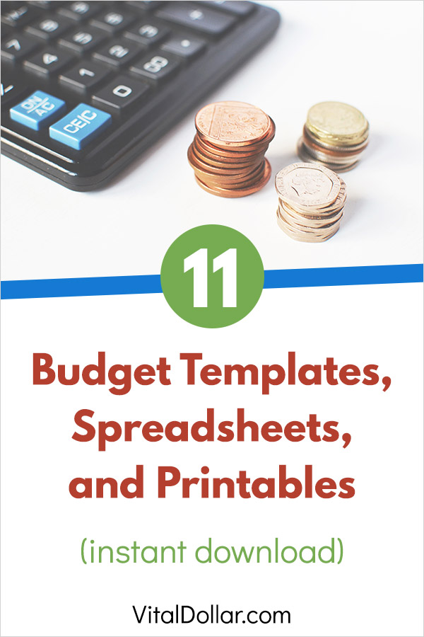 11 Budget Templates and Spreadsheets to Help Organize Your Finances. These free downloads are perfect for getting your finances and spending under control. Manage your monthly bills, pay down debt, and build your savings with these tools. This collection includes PDF printables as well as spreadsheet templates for Excel, Google Docs, and OpenOffice. #budgeting #personalfinance #money #frugal #printables