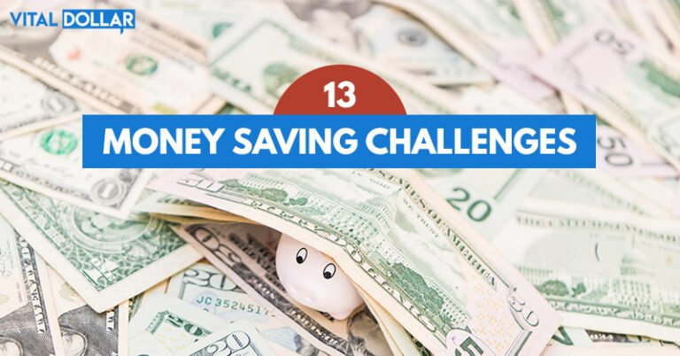 13 Awesome Money Saving Challenges