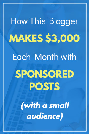 How to Make Money with Sponsored Blog Posts