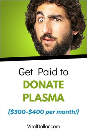 Get Paid to Donate Plasma