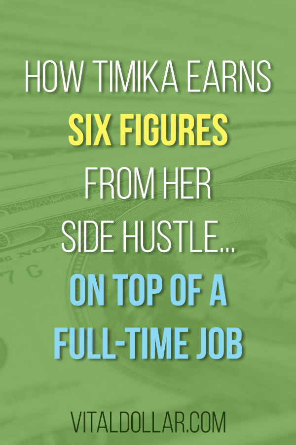 How Timika Earns Six Figures Running a Lice Clinic... On Top of a Full-Time Job. Looking for an unusual side hustle? Timika is a full-time school nurse and she also owns a local lice clinic that makes six figures in extra money for her family. Brick and mortar businesses don\'t usually make good side hustles, but Timika shows that it\'s possible. See how she is making money with a licensing / franchising model. #makemoney #sidehustle #makingmoney #entrepreneur
