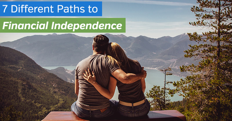 Different Paths to Financial Independence