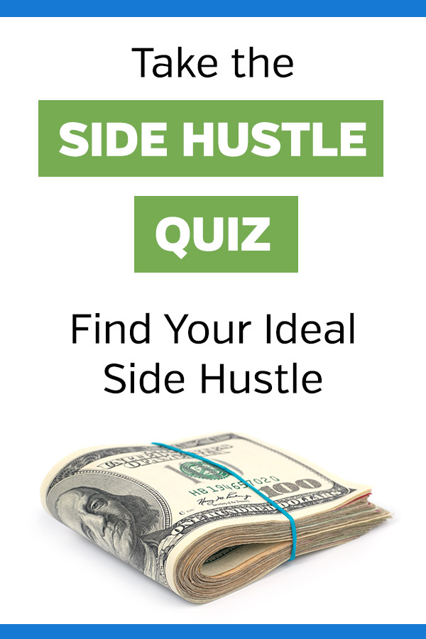 Side Hustle Quiz - Find Your Ideal Side Hustle. If you\'re looking to make extra cash but not sure where to start, this interactive quiz can help you to find the best opportunity for you. Make money in your spare time outside of your job and grow your income. This quiz will give you suggested ideas for making money like blogging, dog walking, transcription, freelancing, and much more. #sidehustles #makemoney #makingmoney #entrepreneur