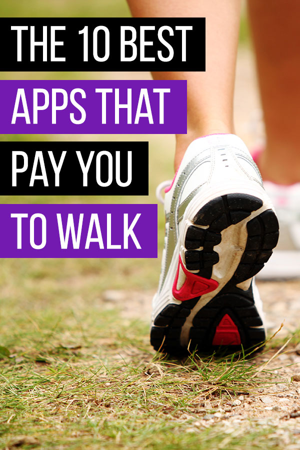 The 10 Best Apps That Pay You to Walk. Looking to make some extra cash? These apps will pay you to walk so you can make money without doing anything extra! Some of the apps use your smartphone\'s GPS and others link to Google Fit or Fitbit to track your steps. Make extra money while you get exercise! A few of the apps give you potential to make real money by offering a service while you are walking. Don\'t miss #8! #makemoney #makingmoney #sidehustle #fitness #exercise