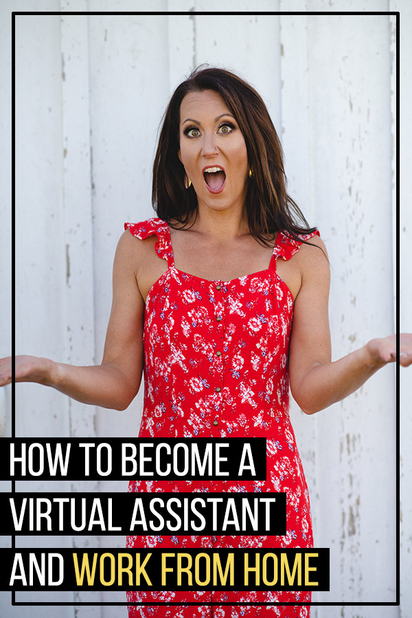 How to Become a Virtual Assistant and Work from Home. Are you looking for a great home-based business opportunity or side hustle? Working as a VA allows you to have a flexible schedule and make money full-time or part-time, even if you already have a job. You can offer services like social media management, content creation and writing, customer services, administrative support, and more. #makemoney #makemoneyonline #workfromhome #wahm #sahm #sahd #entrepreneur