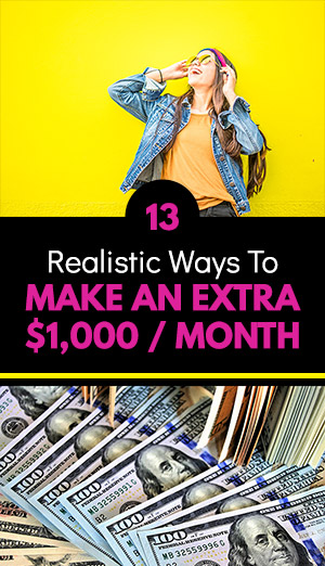 Make Extra $1K Per Month on the Side