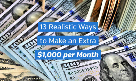 13 Realistic Ways to Make an Extra $1,000 per Month