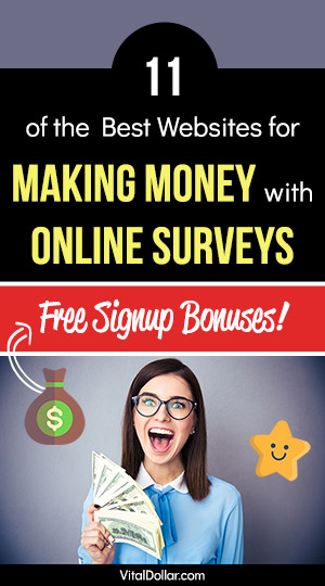 Paid Online Surveys for Extra Money