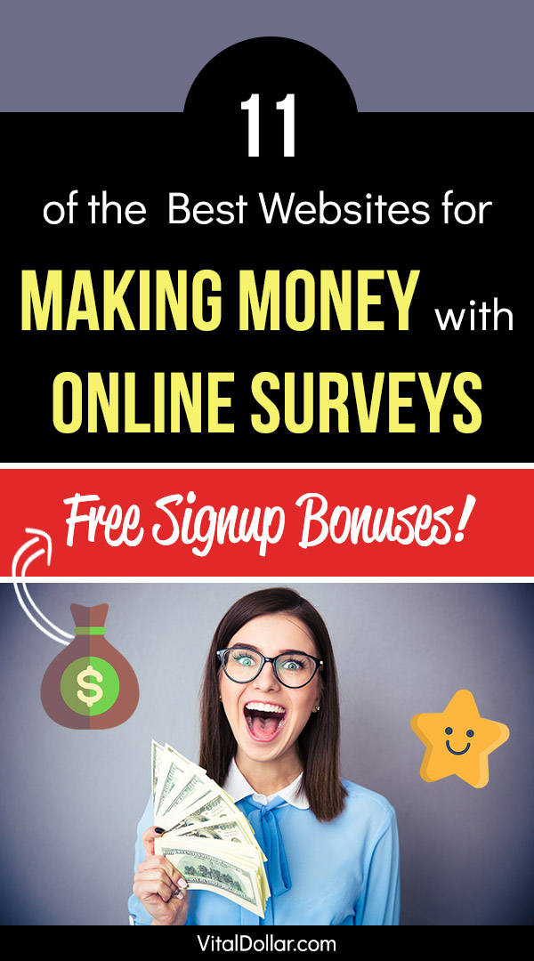 Looking for a flexible side hustle to make extra money in your spare time? Taking paid online surveys for cash is a great option. You can take surveys whenever it fits into your schedule, making it perfect for stay-at-home moms and dads, or anyone else who has a busy schedule but needs to make some money. This article lists the best websites that will pay you for your opinions and your time to take the survey. #makemoney #makingmoney #sidehustle #money