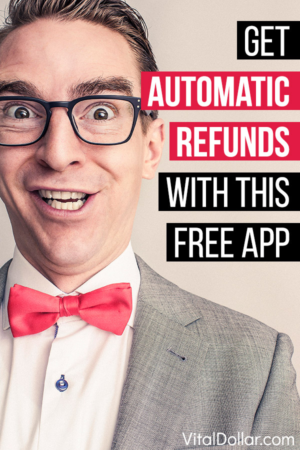 This free mobile app for iPhone or Android, Paribus, will save you money by getting refunds that are owed to you, automatically! When you make a purchase from a store that offers a low-price guarantee, Paribus will monitor the price to see if it can find the same item cheaper. If the price drops, Paribus will automatically request a refund for the difference on your behalf. Once you set it up (takes just a minute) it\'s totally passive. #savemoney #savingmoney #money