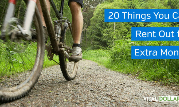 20 Things You Can Rent Out for Extra Money