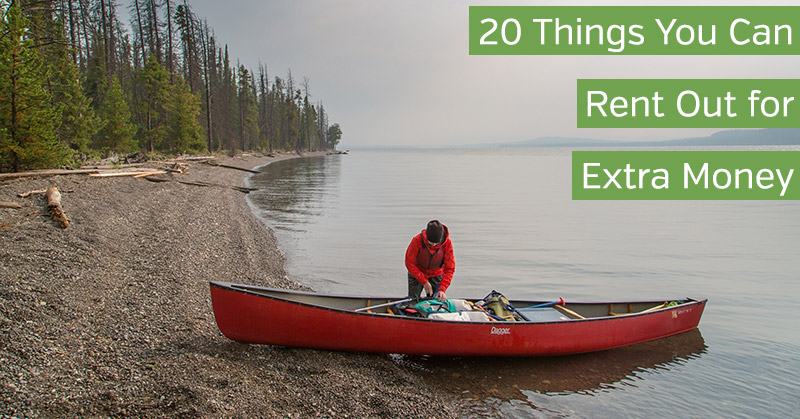 Things You Can Rent for Money