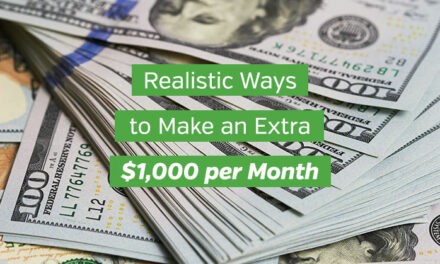 15 Realistic Ways to Make an Extra $1,000 per Month
