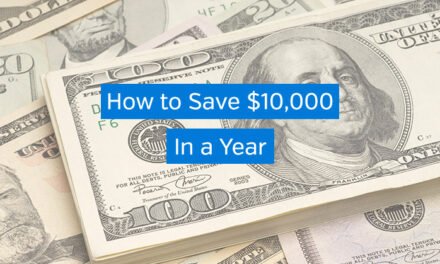 How to Save $10,000 in a Year