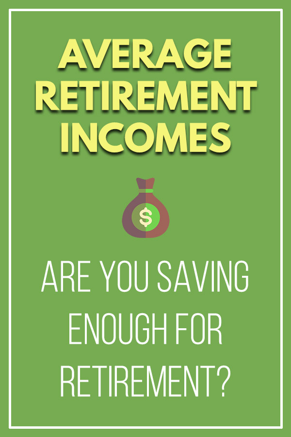 Average Retirement Incomes: Have You Saved Enough for Retirement? How much money will you need to live after you\'re retired? This article has some helpful stats that show the average income for retirees, so you can know how you compare to most Americans. Make you are saving enough that you can safely withdraw money without depleting your finances. See how retirees are living (social security, working a job, investment income). #retirement #personalfinance #money