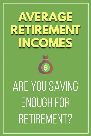 Average Retirement Incomes