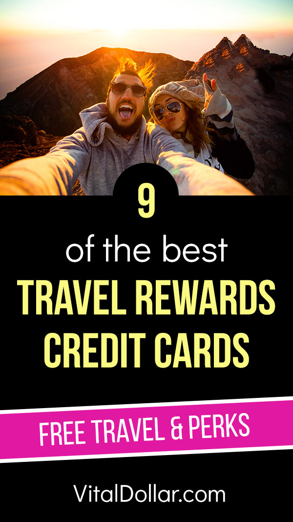 Best Travel Rewards Credit Cards for 2019. Check out these ratings and reviews to find the best credit cards for getting free travel and perks for frequent travelers. The cards on this list will give you generous signup bonuses with points or miles that provide plenty of free travel, with things like hotel rooms, flights, rental cars, and more. Cards from Chase, Capital One, American Express, Wells Fargo, Southwest, and Marriot make our list. #travel #frugal #savemoney