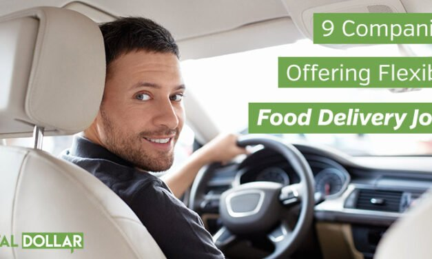 9 Companies Offering Flexible Food Delivery Jobs