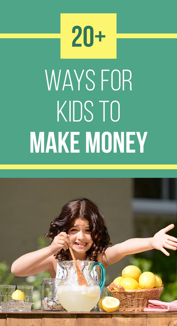 How to Make Money as a Kid: 20+ Realistic Options. Looking for creative ideas and tips for ways kids can make money? Check out this list of 20+ possibilities. Many of them are fun and will allow kids to learn about money and manage some money of their own. Children and teens can earn extra cash in their spare time or start a business with these original and unique ideas. #makemoney #makingmoney #family #kids #money #sidehustle