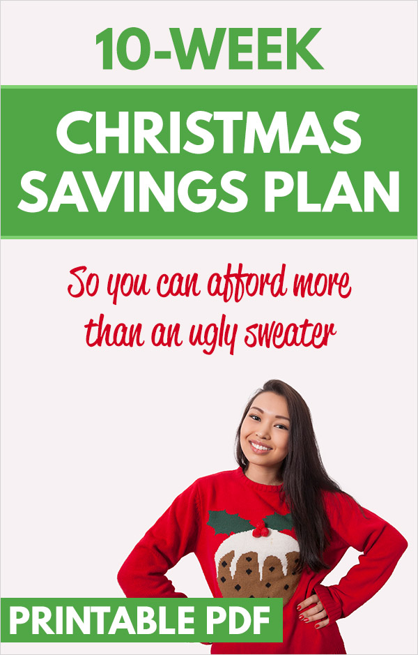 10-Week Christmas Savings Plan. Follow this simple, easy plan and save $500 for your Christmas shopping in just 10 short weeks. If you haven\'t started saving for holiday gifts yet, it\'s not too late! This article lays out a simple plan to follow, and also provides plenty of ideas to quickly make some extra money to use for those gifts for family and friends. #family #christmas #holidays #money #saving #savingmoney #personalfinnace
